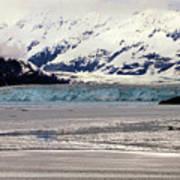 Hubbard Glacier Alaska Wilderness Poster