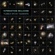 Hubble Galaxy Poster Poster