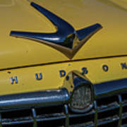 Hudson Hood Ornament And Logo Poster