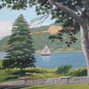Hudson River Schooner Poster