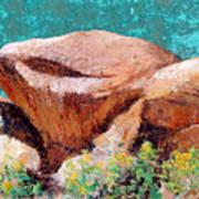 Hueco Tanks Rocks Poster