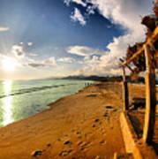 Huequito Beach Poster