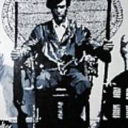 Huey Newton Minister Of Defense Black Panther Party Poster