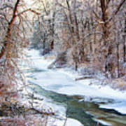 Humber River Winter Poster