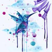 Hummingbird Skeleton 2.0 Poster