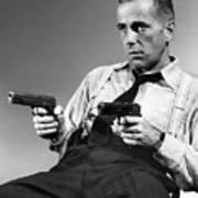 Humphery Bogart As Gangster Roy Earle High Sierra 1941 Poster