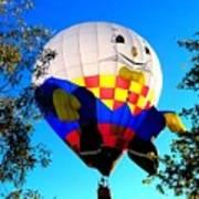 Humpty Dumpty Balloon Poster