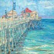 Huntington Beach Pier Poster