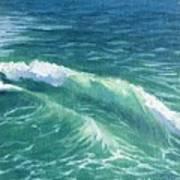 Huntington Small Waves  Poster