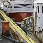 Husavik Boats Iceland 3741 Poster