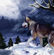 Husky - Mountain Spirit Poster