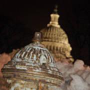Hydrant Capitol Washington Dc Poster