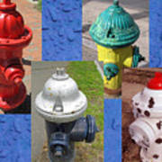 Hydrants 2 Poster