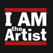 I Am The Artist Poster