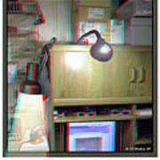 I C The Light - Use Red-cyan 3d Glasses Poster