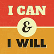 I Can And I Will Poster