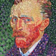 I Heart Van Gogh Portrait Of Vincent Poster