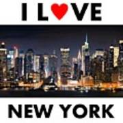 I Love New York Poster