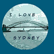 I Love Sydney Poster