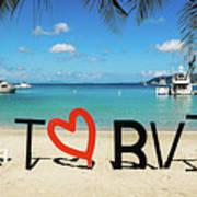I Love The Bvi Poster