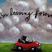 Im Leaving Forever Poster