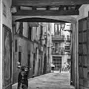 Barcelona Alleys Poster