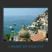 I Share My Talents Poster