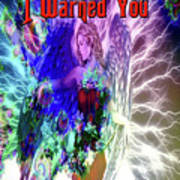 I Warned You Poster