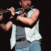 Ian Anderson Of Jethro Tull Poster