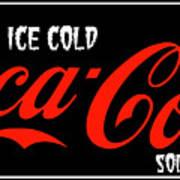 Ice Cold Coke 8 Coca Cola Art Poster