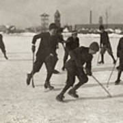 Ice Hockey 1912 Poster