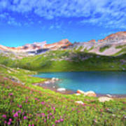 Ice Lakes Basin  Poster