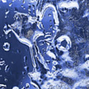 Ice Patterns 1  Poster