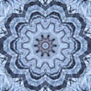 Ice Patterns Snowflake Poster