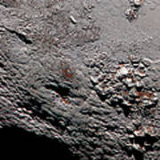 Ice Volcano On Pluto Poster