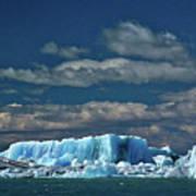 Iceberg In Viedma Lake - Patagonia Poster