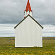 Icelandic Church Poster
