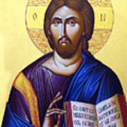 Icon Of Christ In Jericho Poster