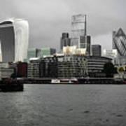 Iconic London Skyline Poster