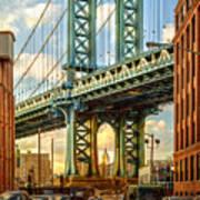 Iconic Manhattan Poster