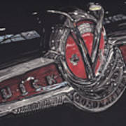 Icons Buick V8 Poster