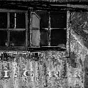 I.c.r.r. Steam Engine Cab Poster
