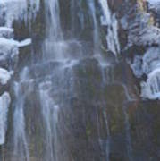 Icy Falls Poster