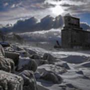 Icy Tundra In Buffalo Poster