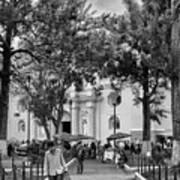Iglesia La Merced - Antigua Guatemala Bnw Ix Poster