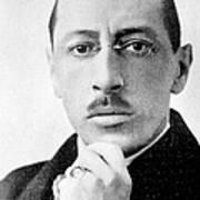 Igor Stravinsky, Russian Composer Poster
