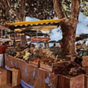 il mercato di St Paul Poster