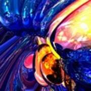 Illuminate Abstract  Poster