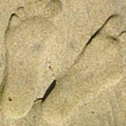 Illusionary Feet Poster
