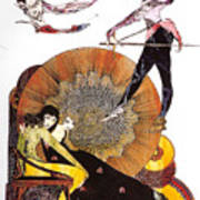 Illustration From Faust  Poster
